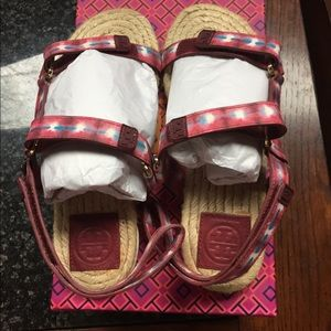 Tory Burch Strappy Espadrille